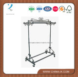 Steel Garment Rack for Botique