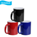 Dye Sublimation Magic Changing Mug for Heat Transfer Printing Glossy