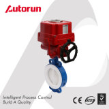 Explosion Proof Electric Fluerine Lined Wafer Butterfly Valve