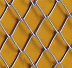 2-6mm Wire Diameter Galvanized Iron Wire Chain Link Fence