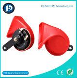 Red Brand-New ABS Universal Car Snail Horn