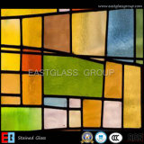 Hot Sale Colorful Stained Glass (Decorative glass)