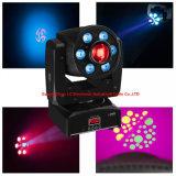 1PCS 30W Spot+ 6PCS 8W Wash 4in1 RGBW LED Moving Head Light