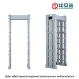 Portable Walk Through Metal Detector with 255 Level High Detection Speed