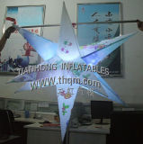 LED Inflatable Spiky Star Decoration for Event Promotion (TH-D67)