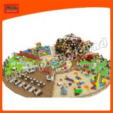 Large Amusement Park Indoor Playground with Ball Pit Sandy Area