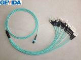 MPO Female 24-St Om3 Fiber Patch Cord