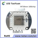 IR LED 730nm 100W 100chip LED Infrared 100W