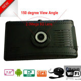 Hot Sale 7.0inch Android Tablet PC Built in GPS Navigator, Car Black Box, External 3G; Bluetooth, Parking Camera