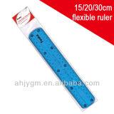 Foska 15cmx3.8cm Plastic Flexible Ruler (AS0815-1)