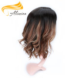 Hot Light Brown Natural Straight Human Hair Lace Wigs