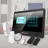 Wireless Home Security WiFi GSM Alarm System with APP Remote