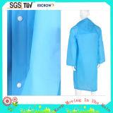 Good Quality Waterproof Promotion Transparent PVC Raincoat for Adult