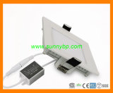 9W Slim LED Panel Light Ceiling Downlight with PIR