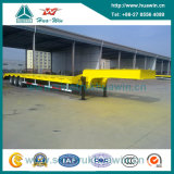 Sinotruk Huawin 3-Axle Truck Trailer / Low Bed Semi Trailer