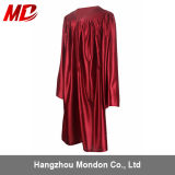 Shiny Maroon Graduation Gown for Kindergarten
