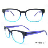 Unisex Gradual Color Acetate Optical Frame Glass