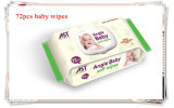 Organic Cotton Baby Wipes 72PCS Stock in Wholesale