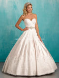 Vintage Sweetheart Ball Gown Wedding Bridal Dress