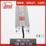 75W 24VDC 3A AC DC Waterproof LED Driver IP67