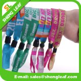 Professional Factory Direct Sale Custom Festival Fabric Woven Wristbands