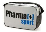 Silver Nylon Sport First Aid Medical Emergency Shoulder Bag