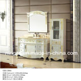 American Oak Luxurious Solid Wood Bathroom Cabinet (13041)