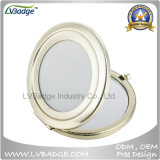Promotional Metal Compact Mirror for Custom Logo