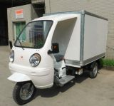 Cargo Use for and Closed Body Type Tricycles