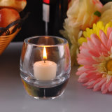 Heavy Bottom Clear Candle Holders