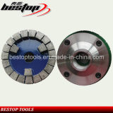 D150mm M45 Threaded Diamond Calibrating Wheel for Grinding Stone Slabs