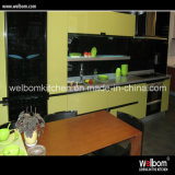 Modern Melamine Faced Kitchen Cabinet Style