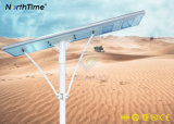 Dimmable 110W Solar Powered Road Lights with PIR Motion Sensor