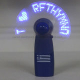 Customized Shining LED Personal Fan with Logo Printed (3509)