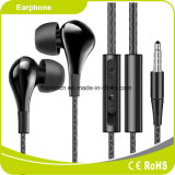 Mobile Phone Ergonomic Design Stereo Power Bass Comfortable Long Wearing Smartphone Earphone