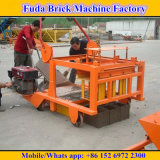 Qm4-45 Movable Diesel Oil Engine Brick Machine for Small Business