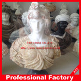 Head Statue Bust Sculpture with Stone Marble Granite Sandstone