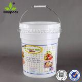 5 Gallon Heavy Duty Plastic Bucket Pail for Sale