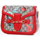 Summer Collection Saddle Bag Ladies PU Leather Top Shoulder Handbags Sy7711