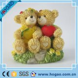 Wedding Cake Topper Miniature Bear Couple Figurine Wedding Gift