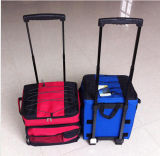 600d Trolley Portable Polyester Cooler Bag