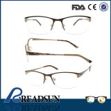 2016 Manufacturers Wholesale Italy Designer Wine Silver Metal Optical Eye Frame Made in China