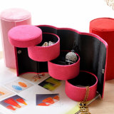 Promotional Paper Jewelry Box, Velvet Presentation Jewelry Box
