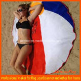 Personalized Printed Round Shaped Beach Towel