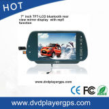 7inch Car Rearview Mirror Monitor with MP5 USB SD Bluetooth