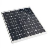 Mono Solar Panel 60W in 18V Voltage for 12V Battery