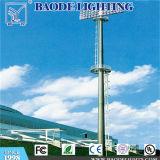 25m Football Stadium High Mast Lighting Pole