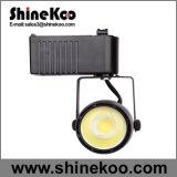 Aluminium 40W COB LED Track Light