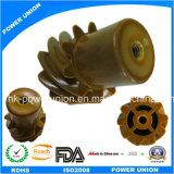 Peek Plastic Injection or Machining Helical Gear