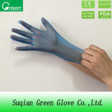 Household Cleanroom Disposable PVC Gloves Blue